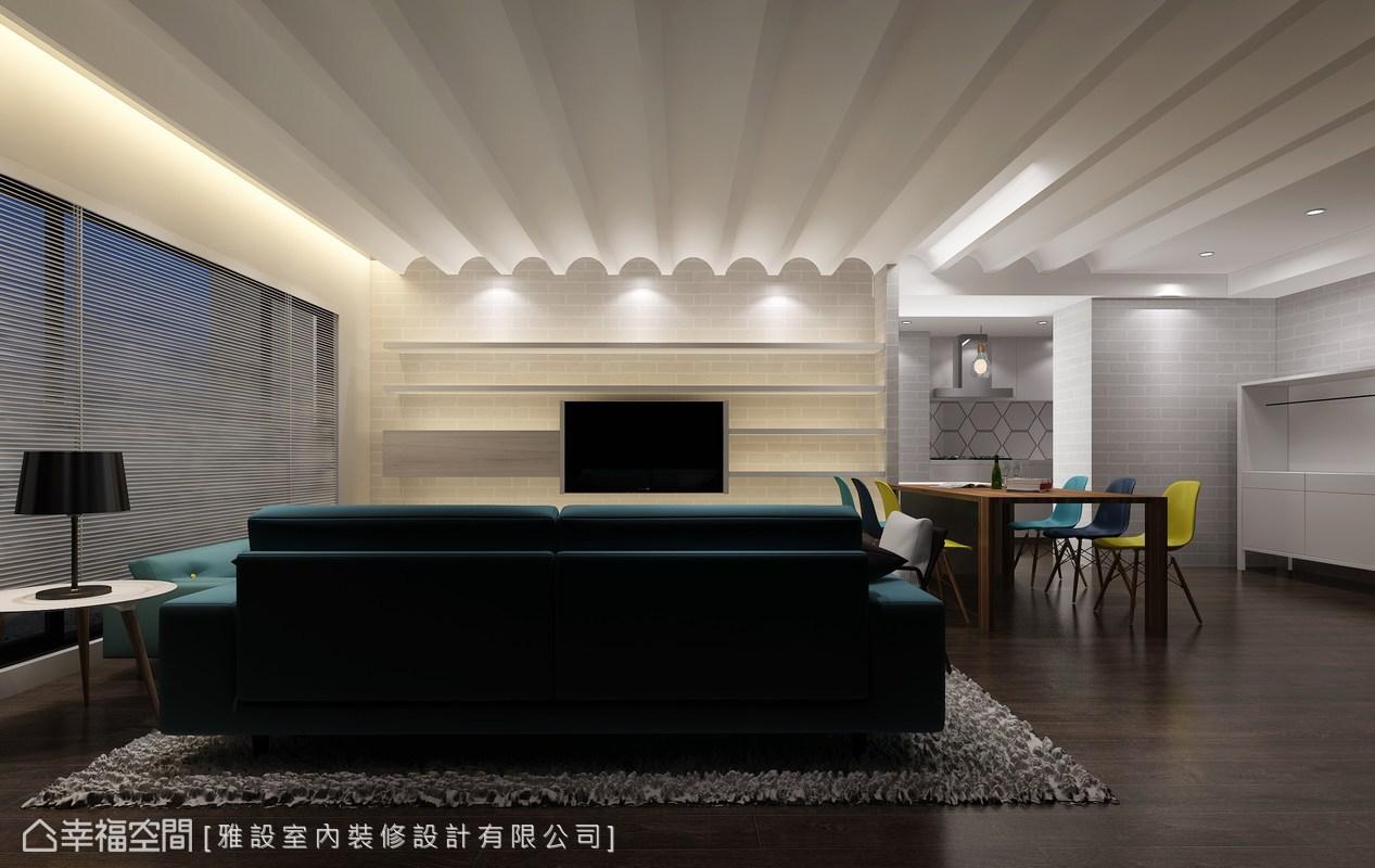 北歐風格 標準格局 毛胚屋 雅設室內裝修設計有限公司