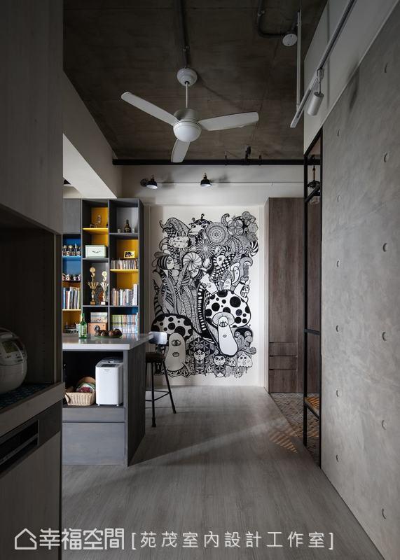 混搭風 標準格局 新成屋 苑茂室內設計工作室