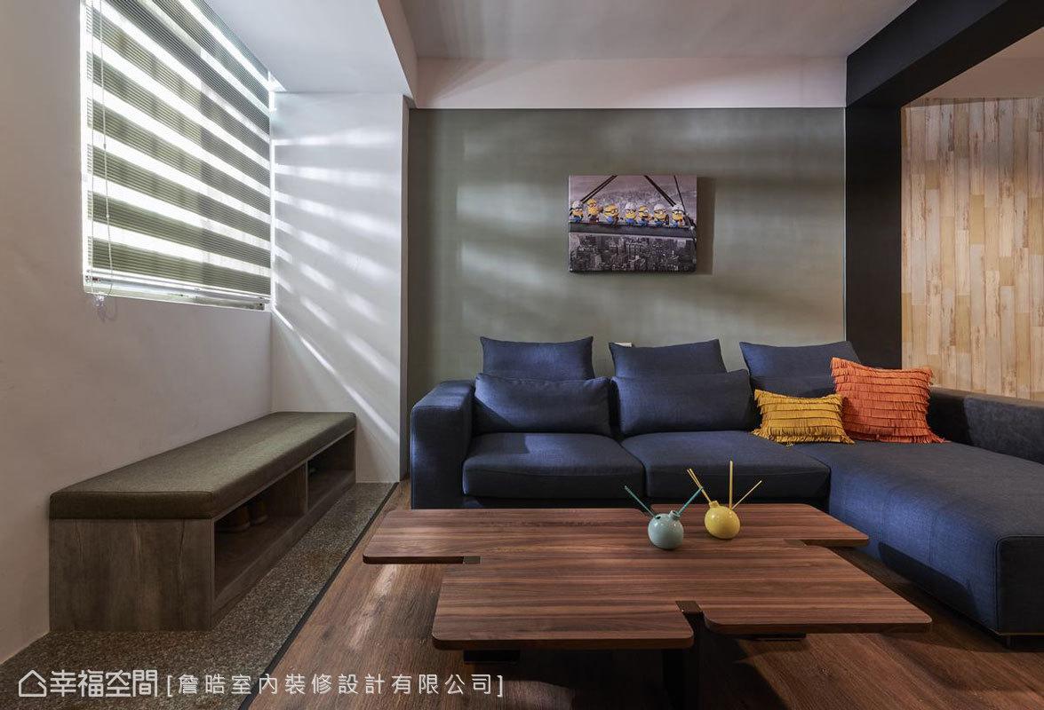 現代風格 標準格局 老屋翻新 詹晧室內裝修設計有限公司