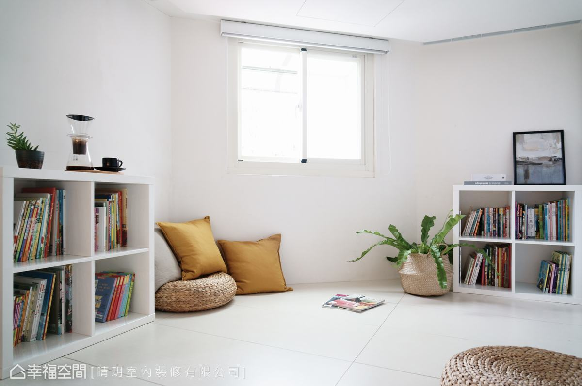 混搭風 | 多樣元素混搭空間設計,三代同堂五口之家