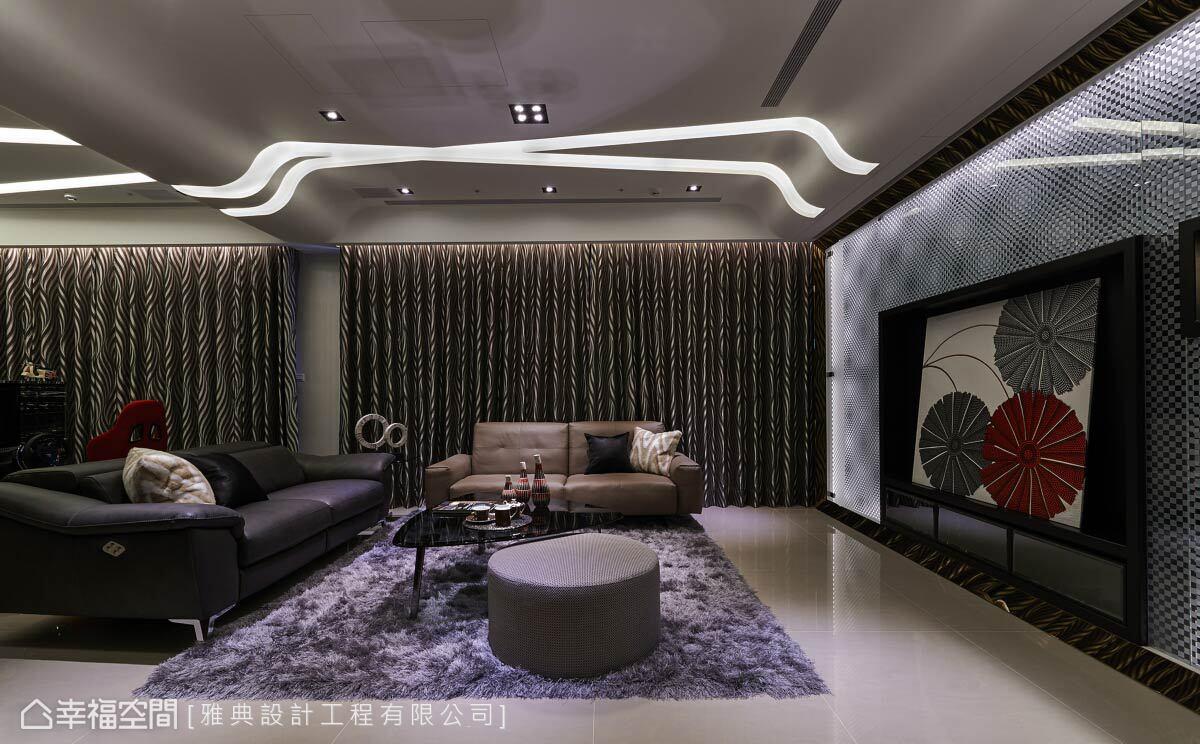現代風格 標準格局 新成屋 雅典設計工程有限公司