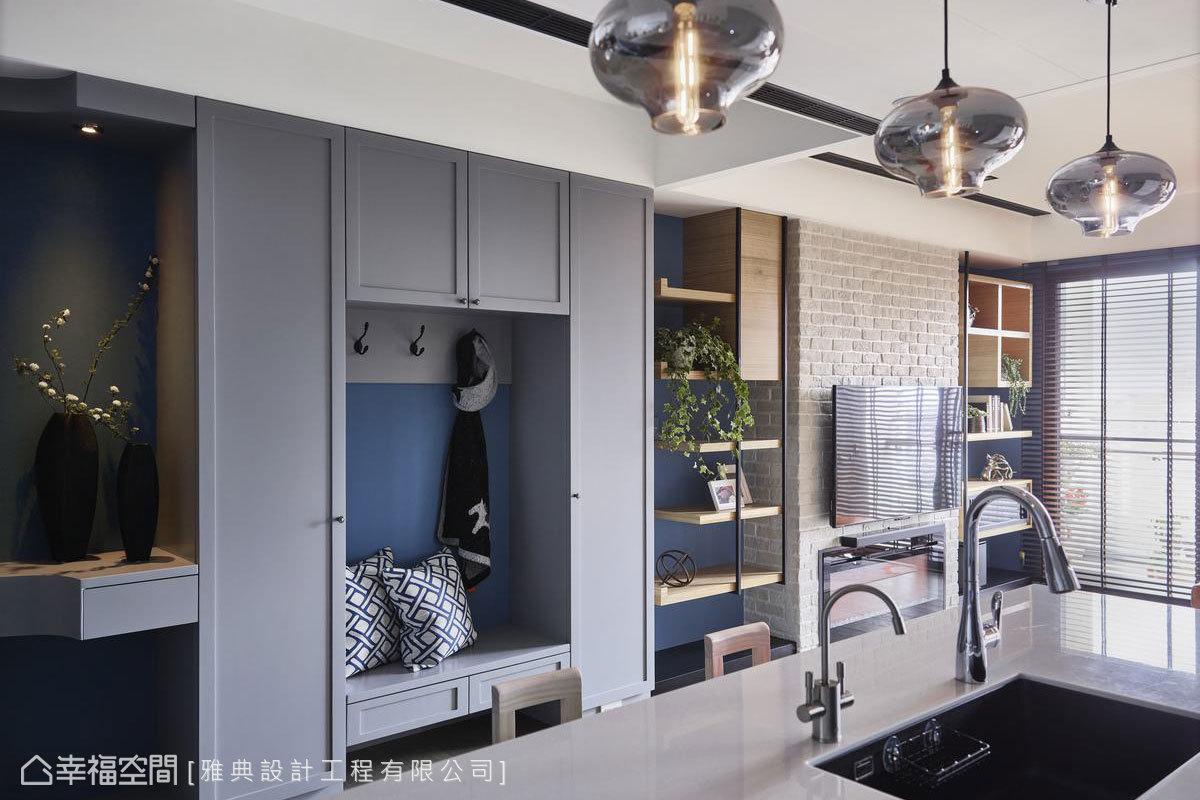 工業風格 標準格局 新成屋 雅典設計工程有限公司