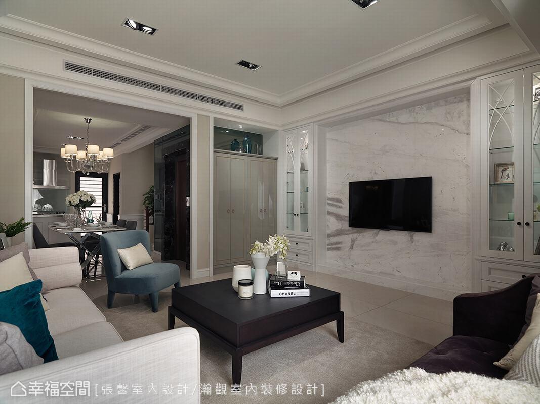 古典風格 實品/樣品屋  張馨室內設計/瀚觀室內裝修設計