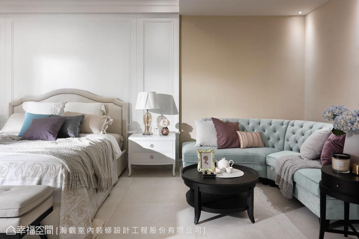 古典風格 別墅 新成屋 瀚觀室內裝修設計工程股份有限公司