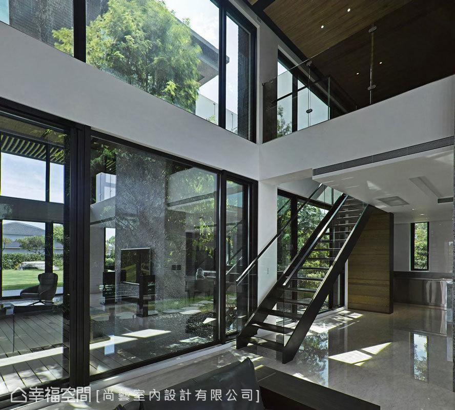 現代風格 大坪數 自地自建 尚藝室內設計有限公司