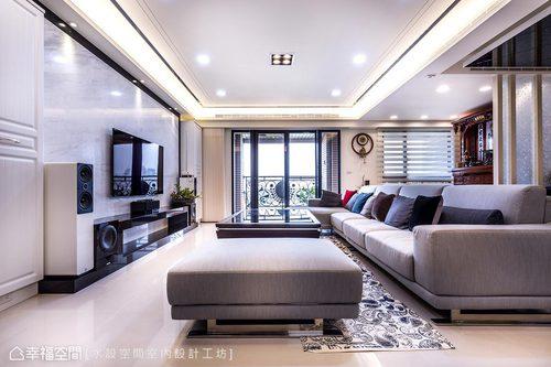 簡約質感 通透無瑕的室內風景