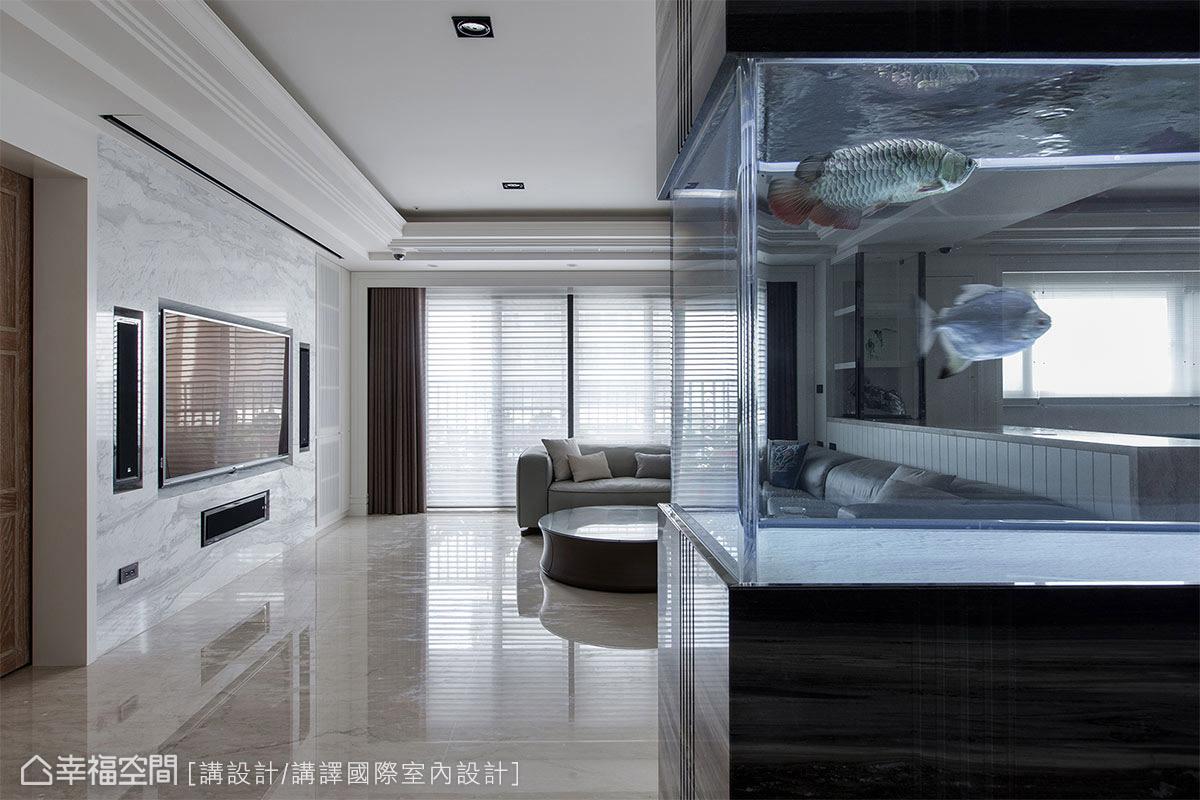 想在家中養魚是有學問的!魚缸擺放的5大風水禁忌...原來過大或過高都不可以!