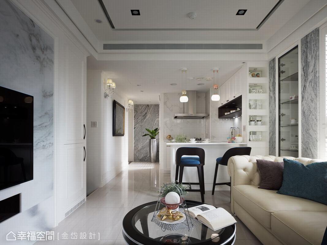 新古典美學不僅僅是一種居家風格樣貌,在深入了解屋主的喜好與需求後,再加以形塑出實用的生活態度與空間運用。