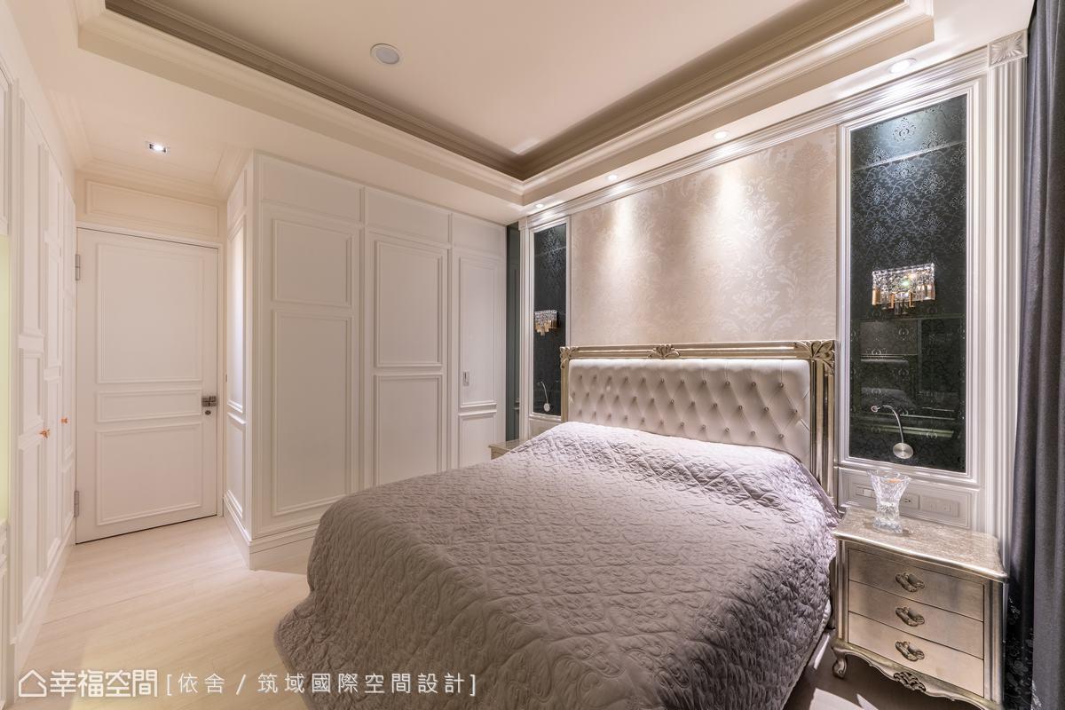 浪漫床頭造型