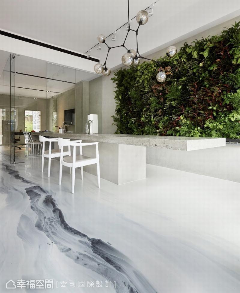 立體植物牆 讓你的辦公室鬧中取靜