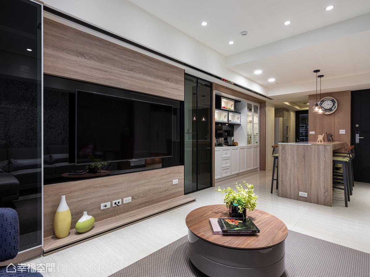 綠建材打底26坪健康宅,幸福與舒適同框