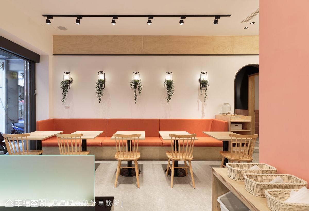 俯拾皆景的活潑構圖,締造如夢似幻的餐敘體驗,使來訪的顧客怎麼拍都好看,帶回如花笑靨。