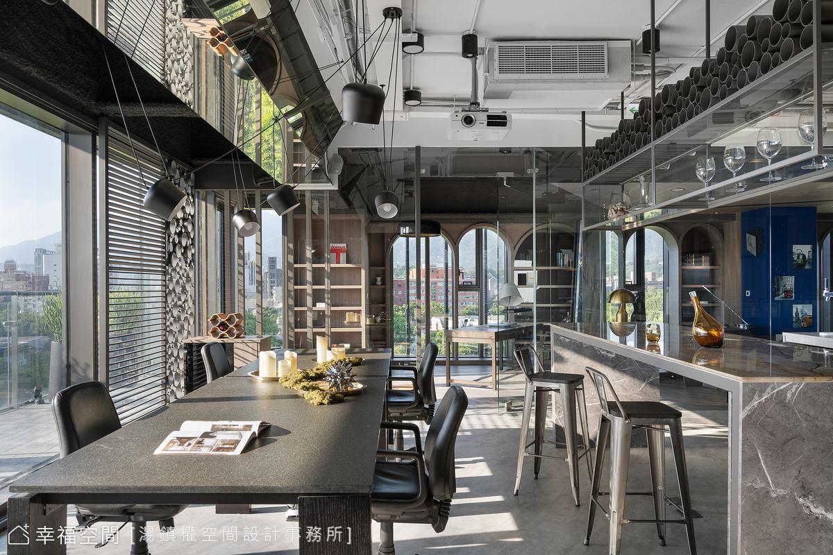 通透場域框架揉合綠意與企業生活文化 凝鍊最佳生活場景