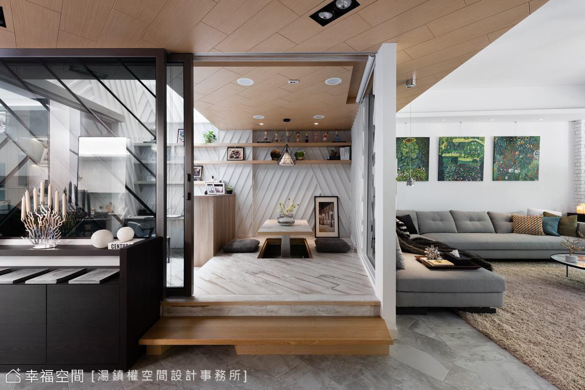 讓陽光來我家!造型天井引光入室 砌築現代北歐日光宅