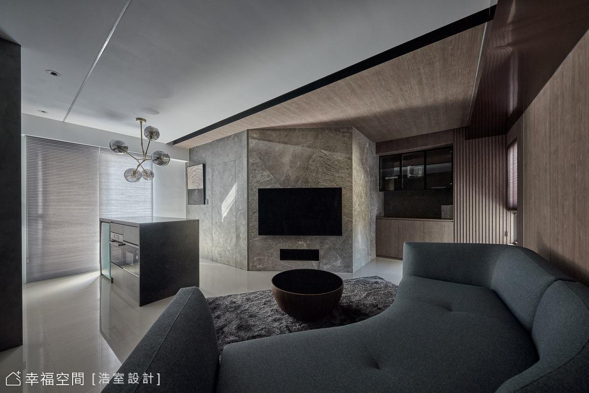 打破18坪框架限制 型塑現代美宅風格視野