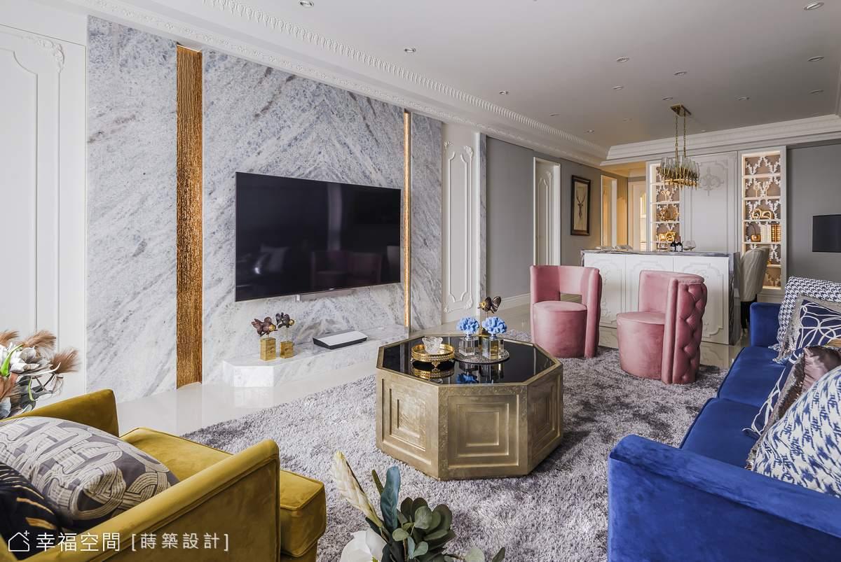 精緻筆觸×新古典語彙 描摹家的華美風範|30坪|3房、2廳、2衛