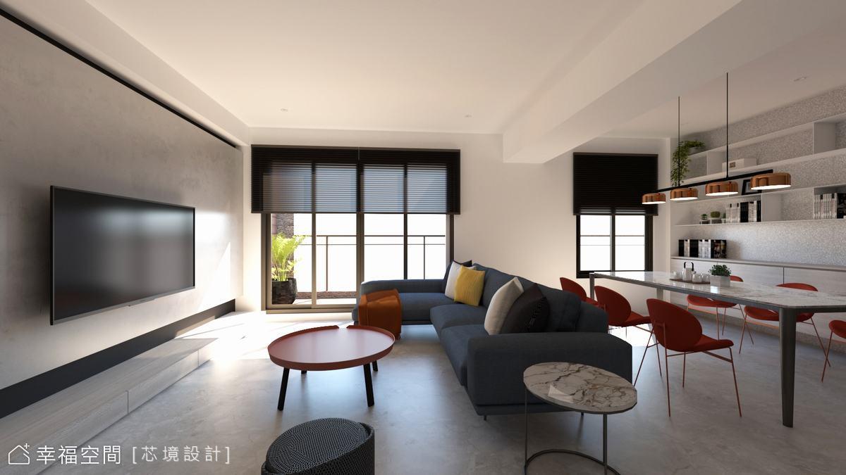 光影繪出生活軌跡 敘寫家的休閒風尚 仁山名悅|30坪|3房、2廳、2衛