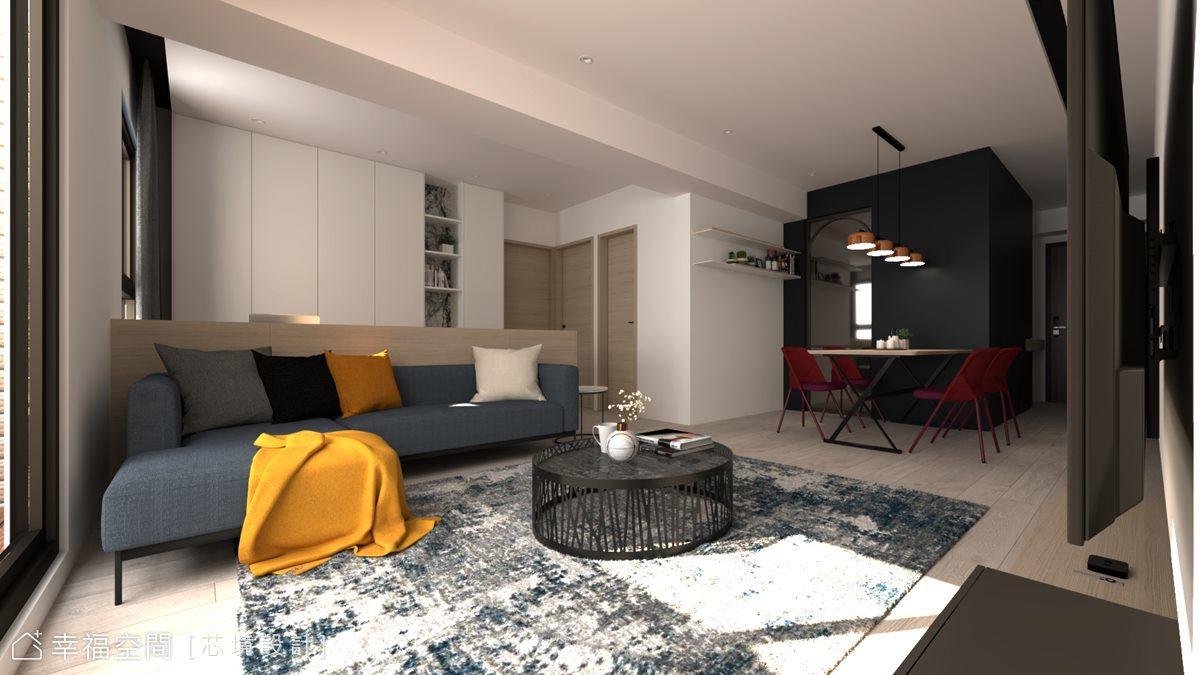 簡約白淨質韻 描繪悠然舒活日常 聚合發艾麗|22坪|2房、1廳、2衛