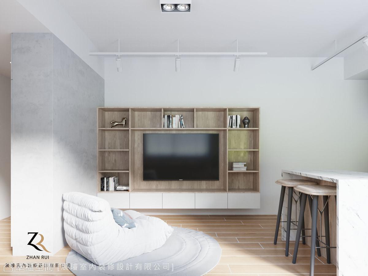 現代木質混搭風 打造明亮清新宅