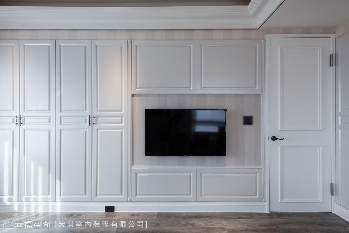 HC Design|WHITE SWAN|美式風|80坪