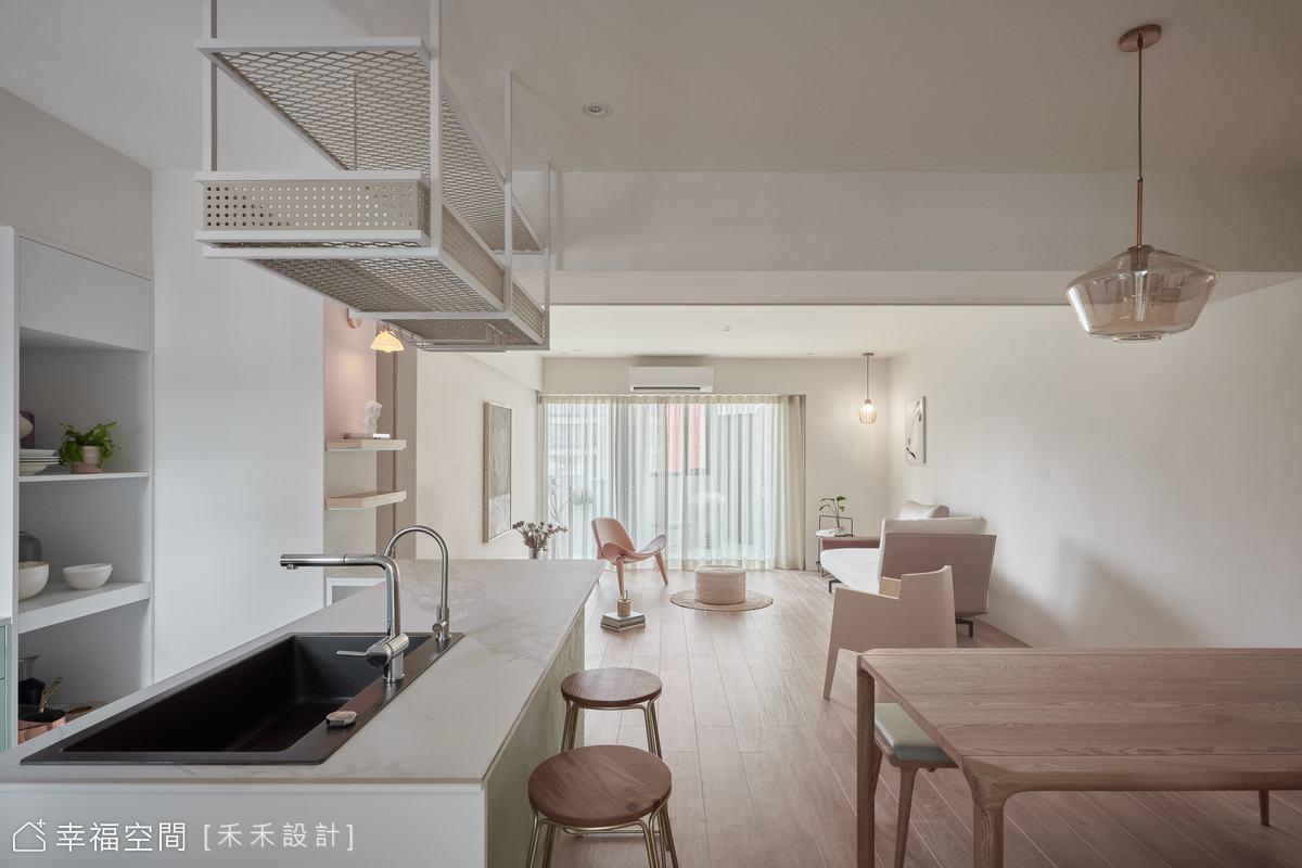 揉光乍現,35坪老宅優雅翻新|休閒多元|35坪|3房、2廳、2衛