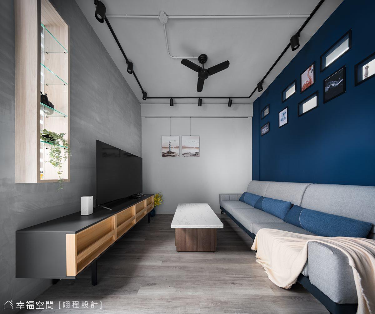 輕工業×簡約 老屋翻修煥然一新|20坪|1房、2廳、1衛