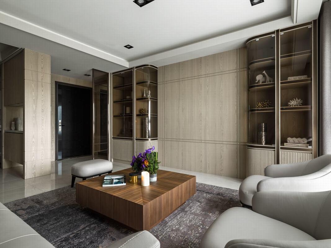 材質線條變換 創造寧靜優雅宅