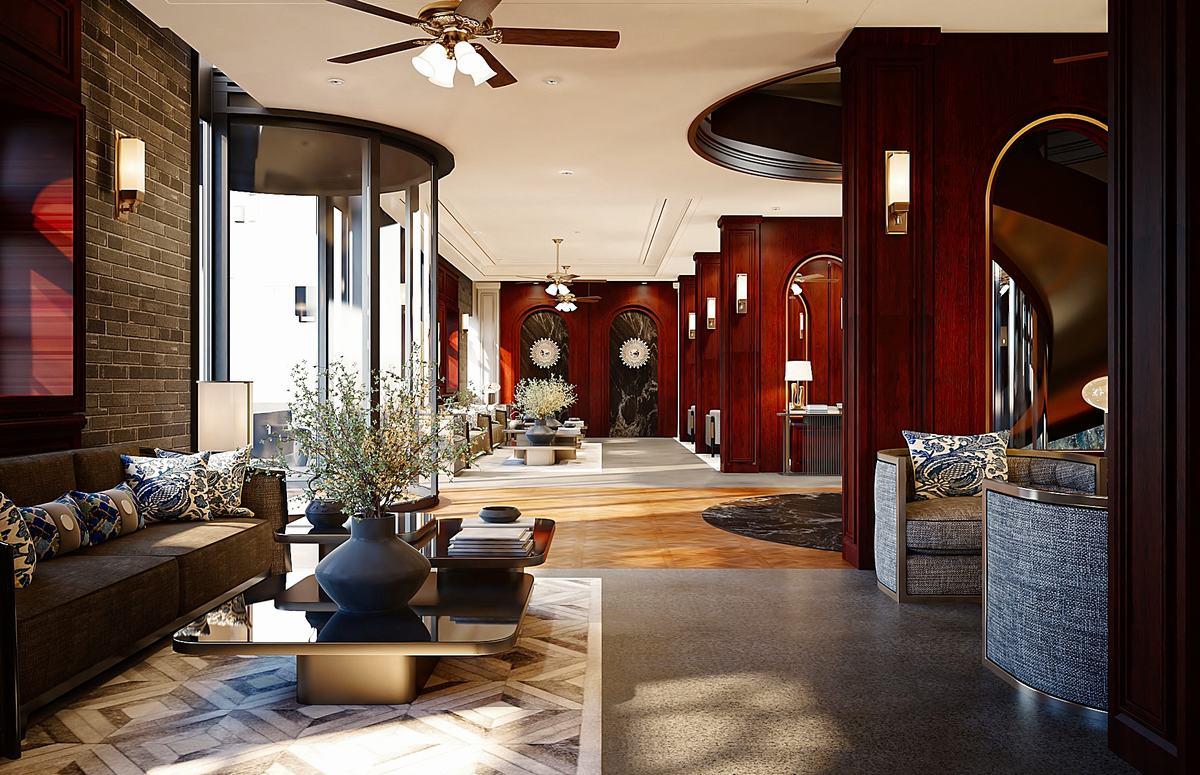北京西城區八大胡同-老巷酒店設計方案