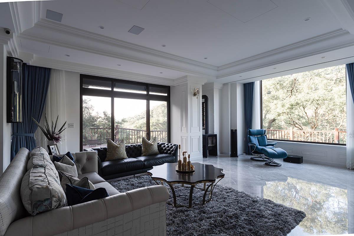 擁抱自然生活 恬靜淡雅美式古典宅