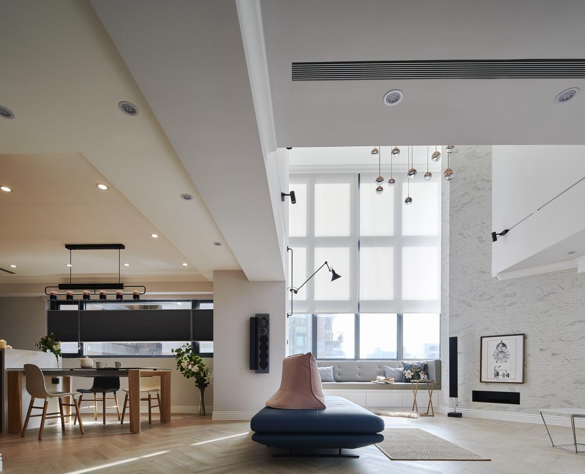 色彩×花磚  打造紐約時尚公寓