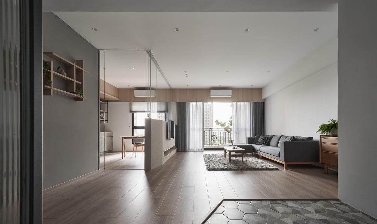 溫潤木質×低彩灰階 砌築歲月靜好沐光日式宅