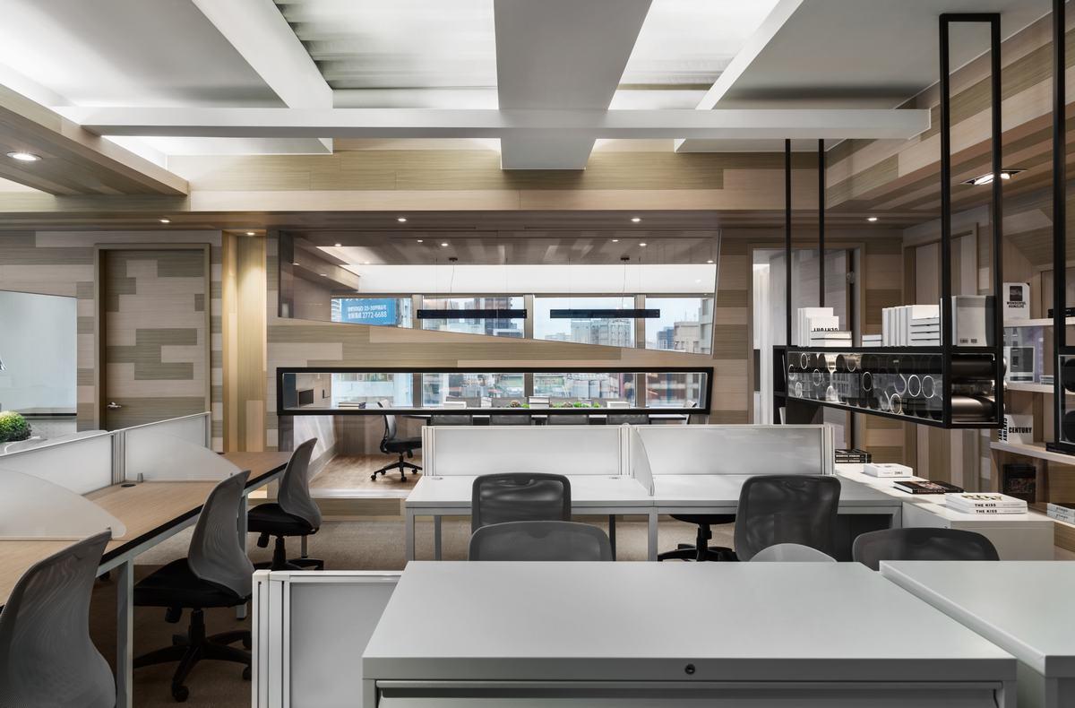 塊狀視覺 創造輕鬆趣味的辦公場域