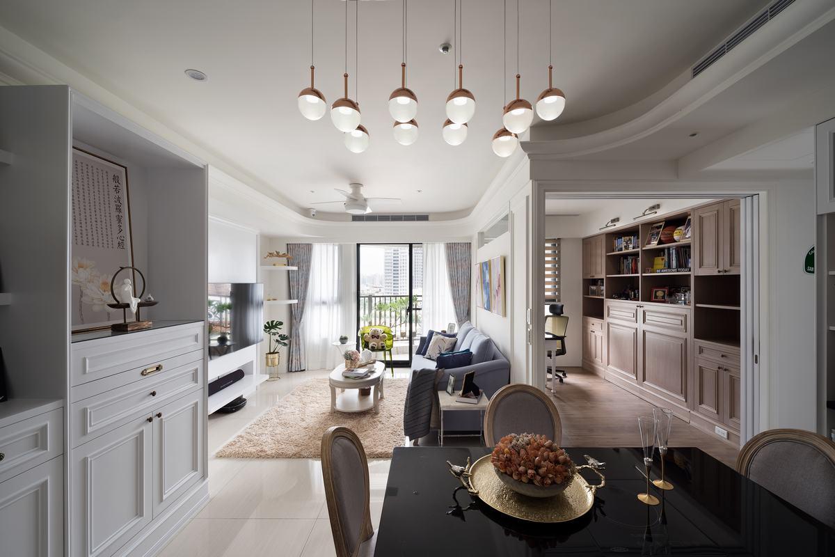 既實用又優雅 全機能的美式古典宅