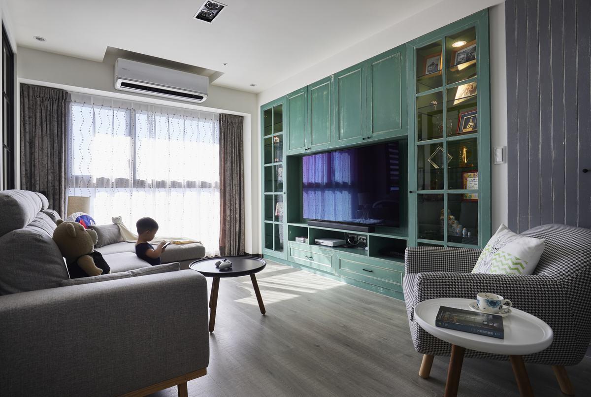 馬卡龍配色 調和溫度感美式繽紛宅