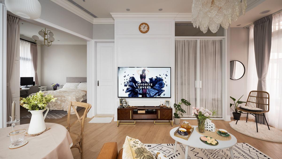 23坪中古屋變身 網美最愛的美式古典宅